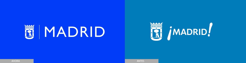 nuevo-logo-ayuntamiento-madrid antes y después