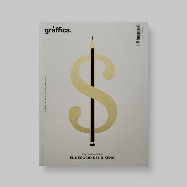 Número dos de la revista Gràffica - El negocio del diseño - portada