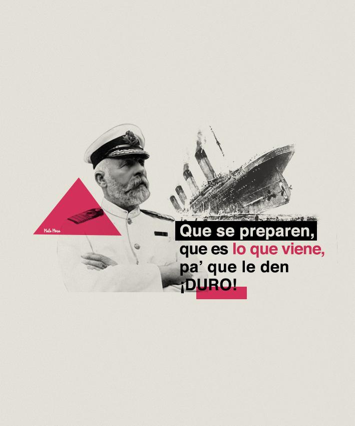 Edward John Smith, capitán del Titanic feat Daddy Yankee.