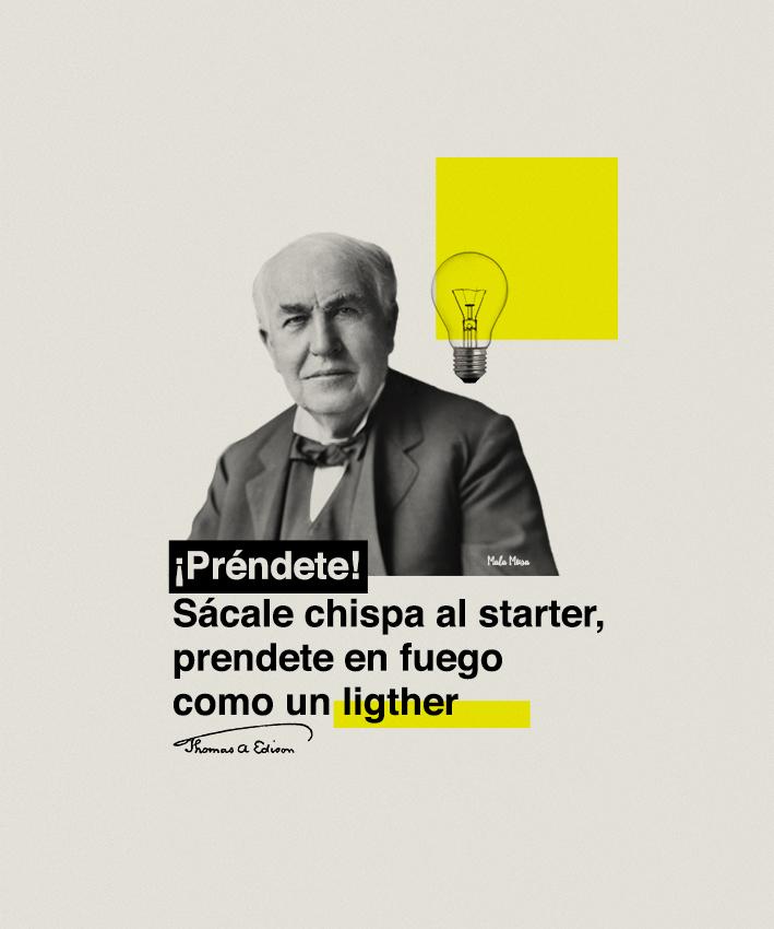 Edison por Mala Musa