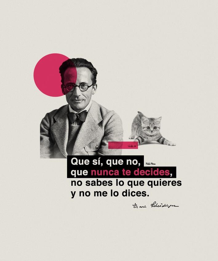 Erwin Schrödinger feat El Símbolo.