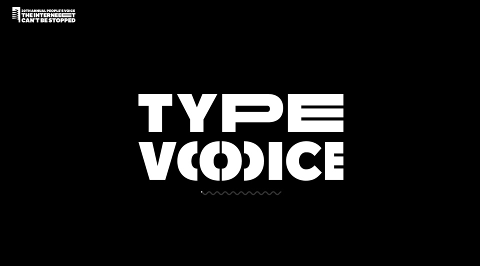 ¿Cómo sería tu voz en tipografía? - Type Voice