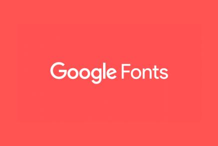 Tutorial para aprender cómo usar el nuevo Google Fonts