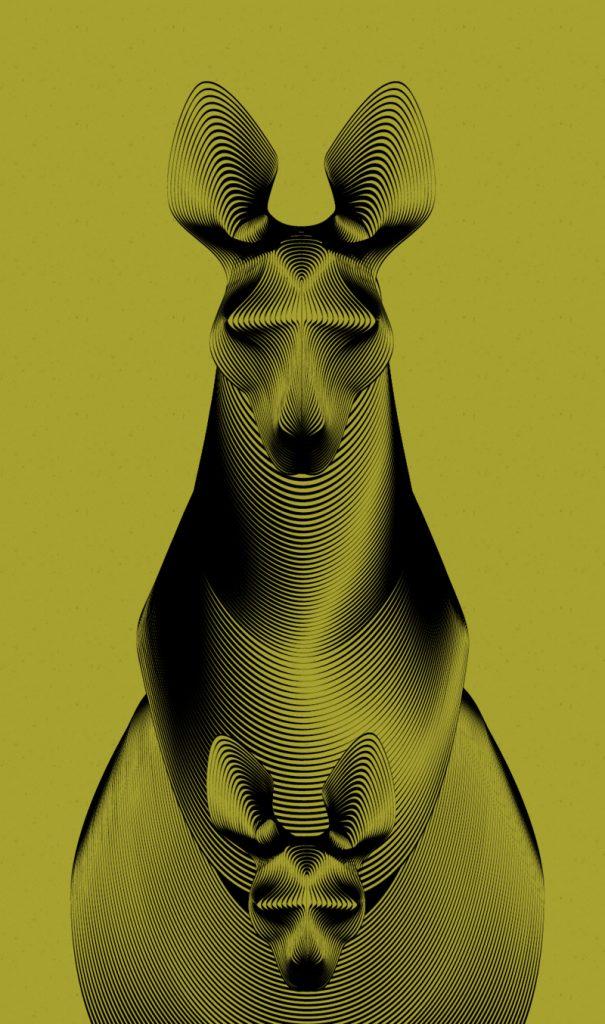 Cómo usar el efecto moiré como herramienta para crear ilustraciones - CIERVO