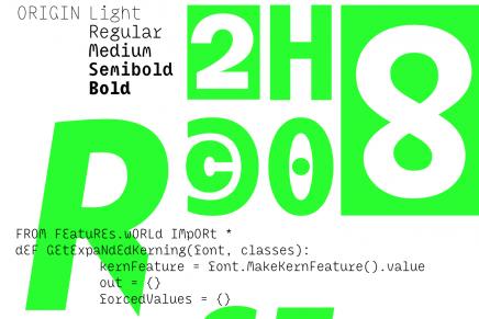 Las tipografías ganadoras del TDC Typeface Design 2016