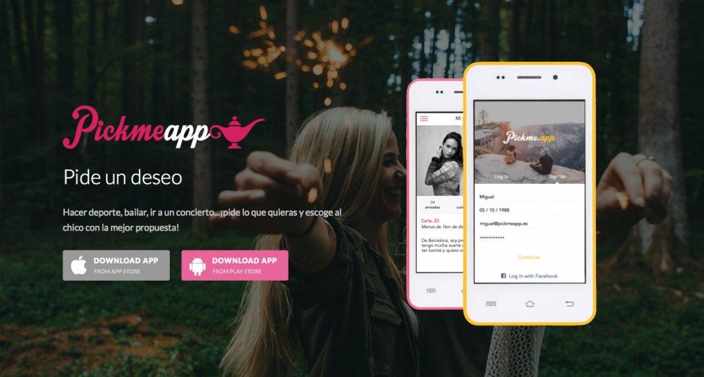 Pickmeapp: de proyecto final de máster a aplicación que hace los deseos realidad - 1