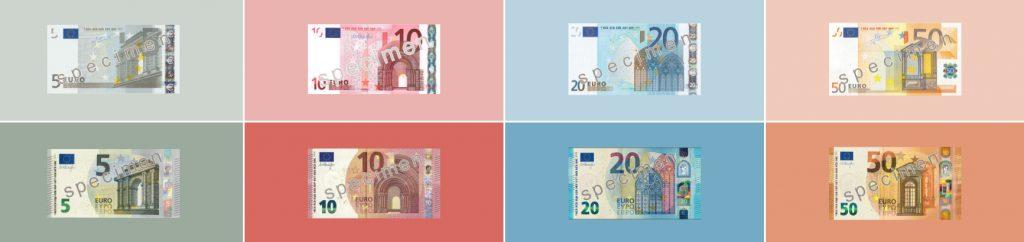 Serie de nuevos billetes Europa