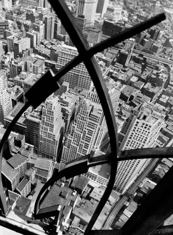 City Arabesque from the Roof of 60 Wall Street Tower, New York, 1938
