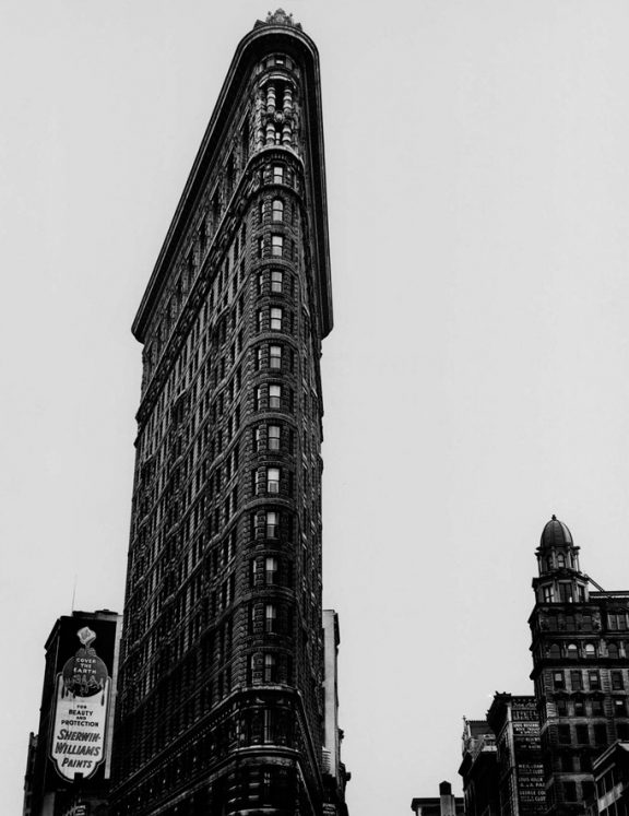 Flat Iron Building, Broadway and Fifth Avenue, New York City,1938