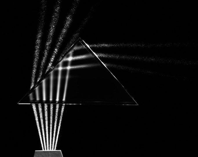 Light through Prism, Cambridge, Massachusetts, 1958-61