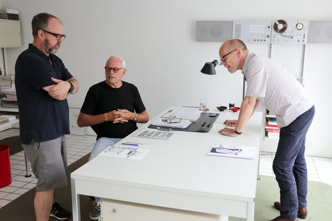 Dieter Rams en el documental 1