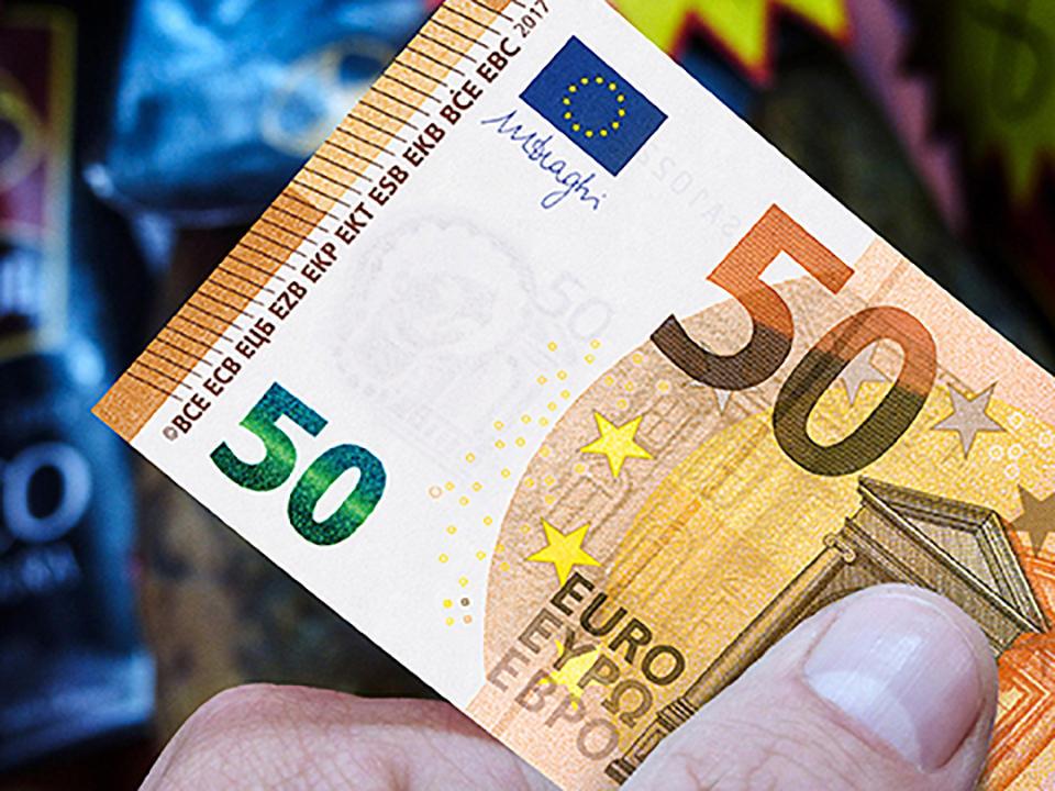 Nuevo Billete de 50 €