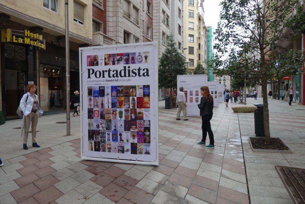 Las portadas de Daniel Gil en Santander