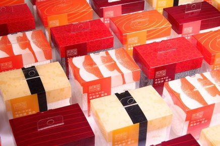 Sushi Loofah Towel, el packaging que convierte toallas en sushi