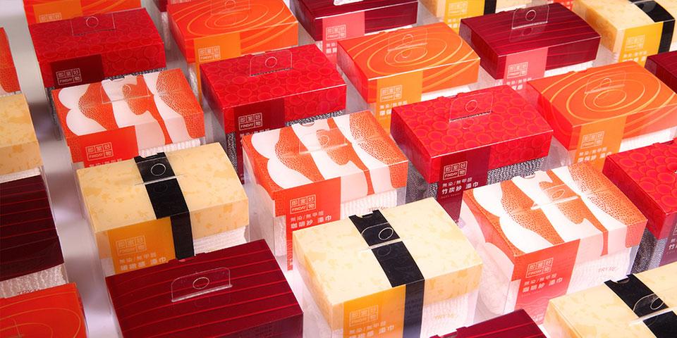 El packaging que convierte toallas en sushi 2