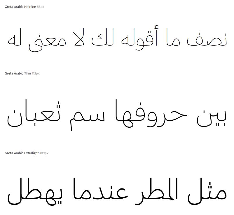 Greta Arabic