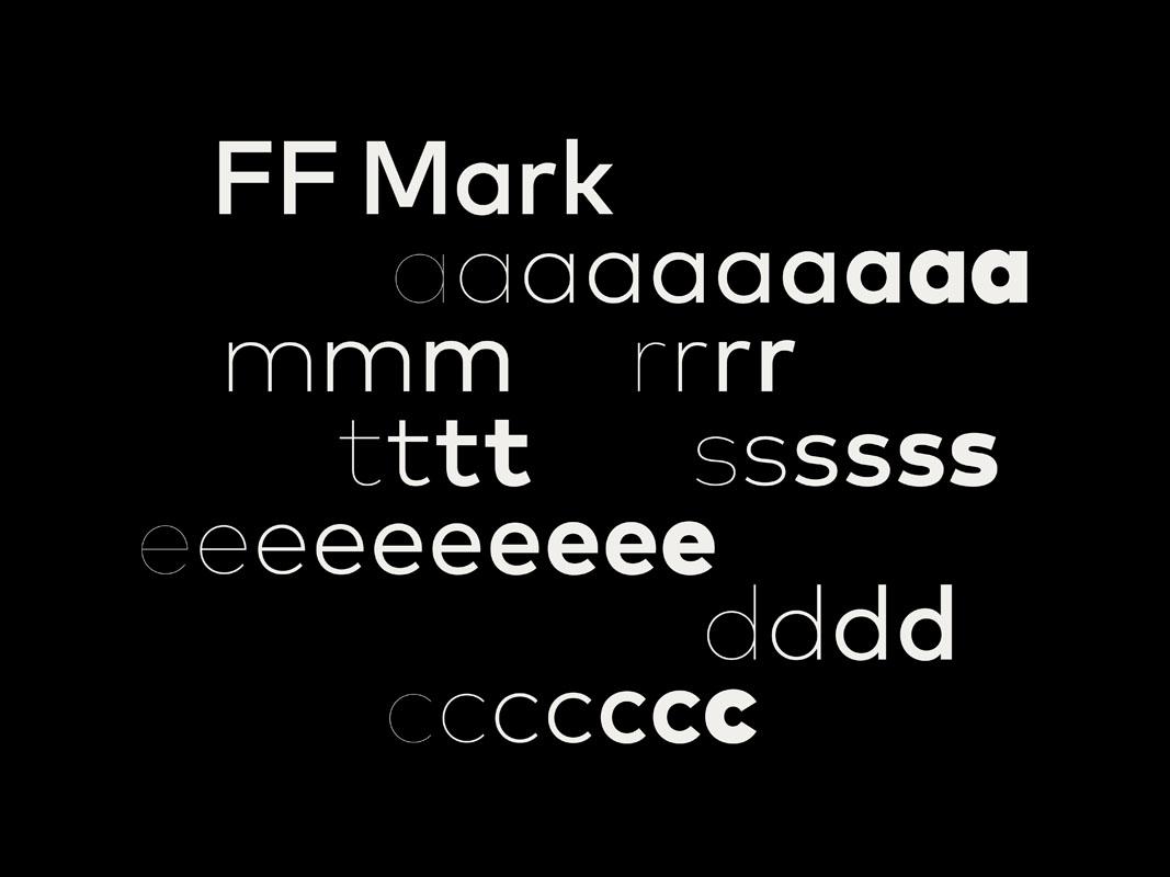La nueva tipografía de Mastercard FF Mark