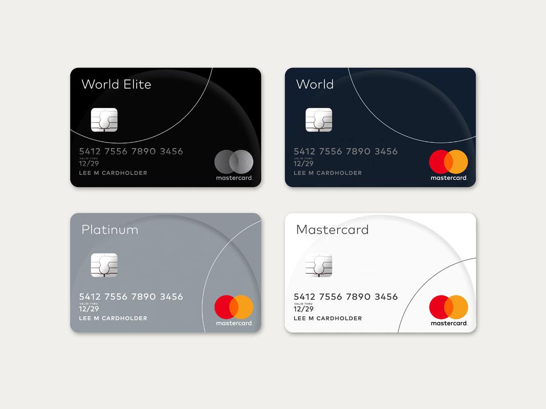 Las nuevas tarjetas Mastercard