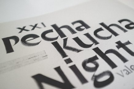 Joan Quirós, caligrafía y lettering 'underground'