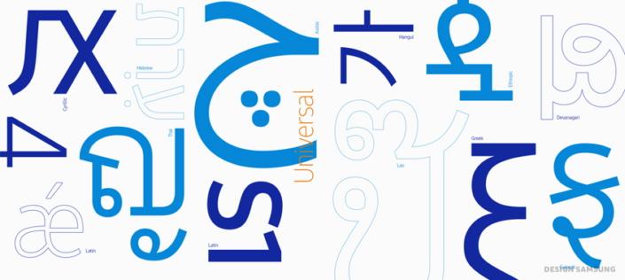 Neville Brody diseña la nueva tipografía de Samsung: SamsungOne