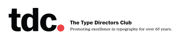 TDC Typeface Design 2016