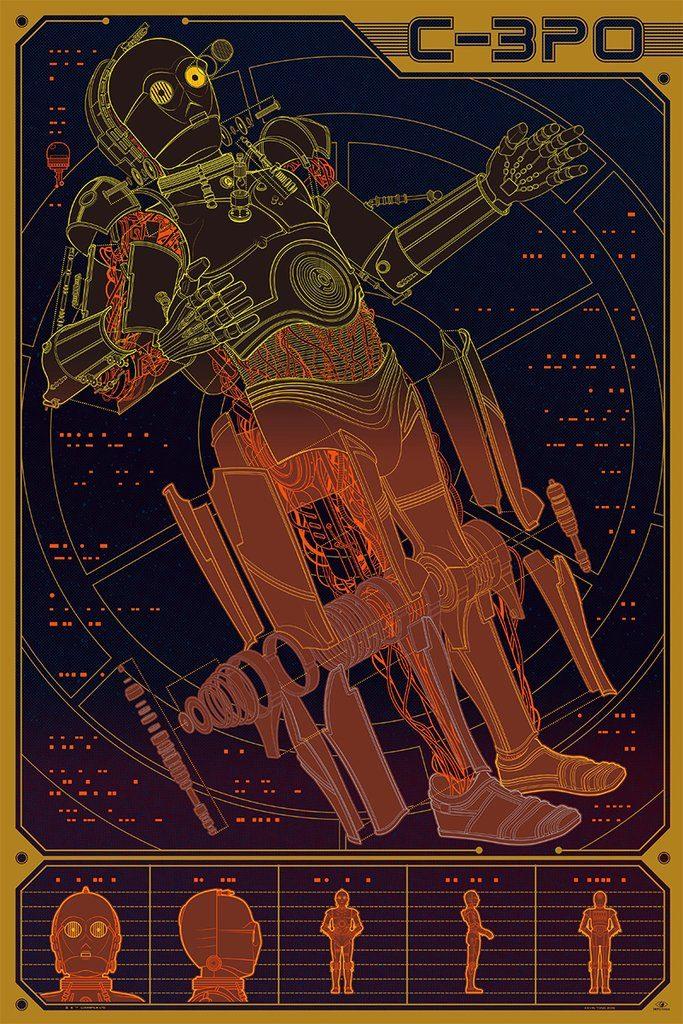Películas míticas que vuelven en forma de inforgrafía - Star Wars