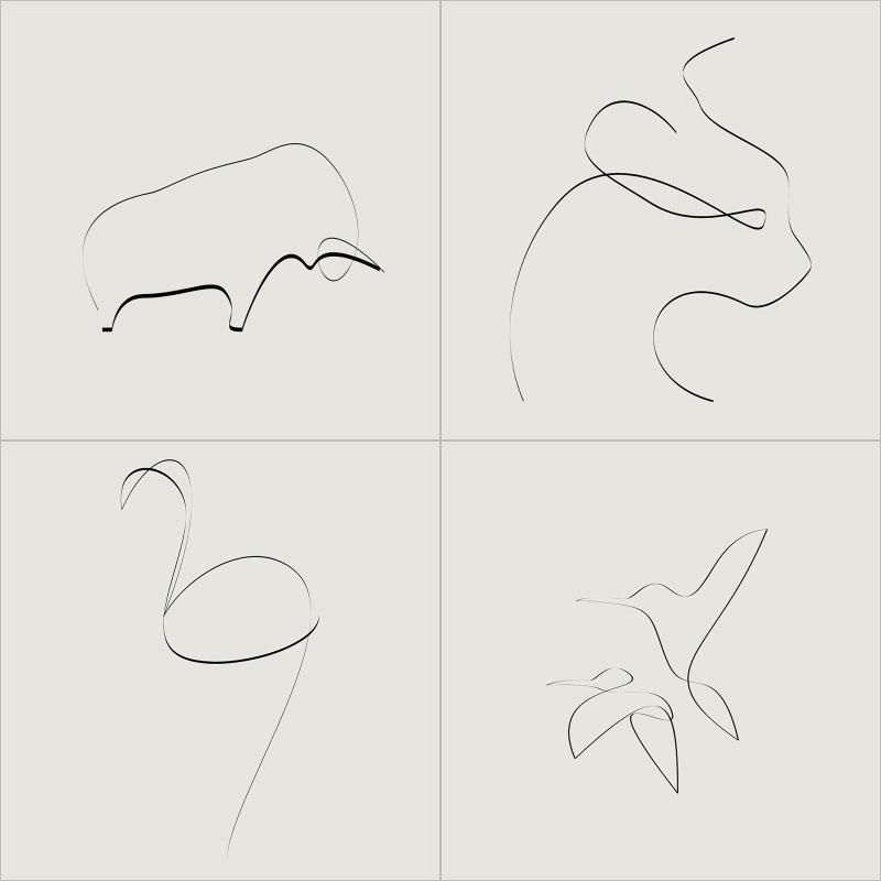 Cómo usar el efecto moiré como herramienta para crear ilustraciones - BOCETOS