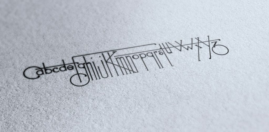 Una tipografía art decó nacida de la Futura y la cucaracha - 3