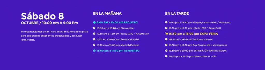 Design Camp Fest 2016 - Programa sábado