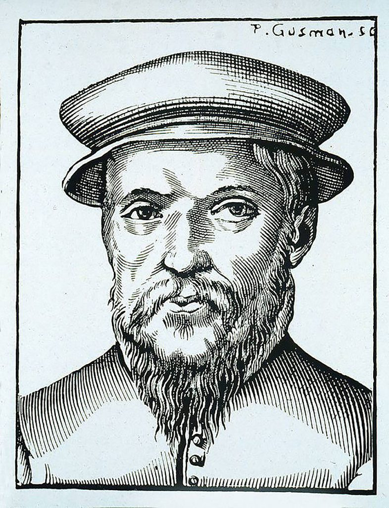 Retrato de Claude Garamond