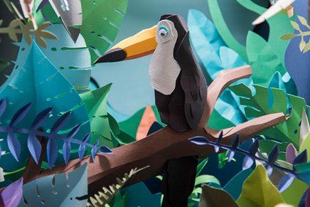 ¿Cómo crear y fotografiar un diorama de papel? Aprende con este curso de Paper Art