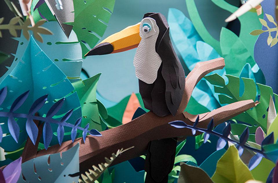 Paper Art: crea y fotografía tu diorama de papel1