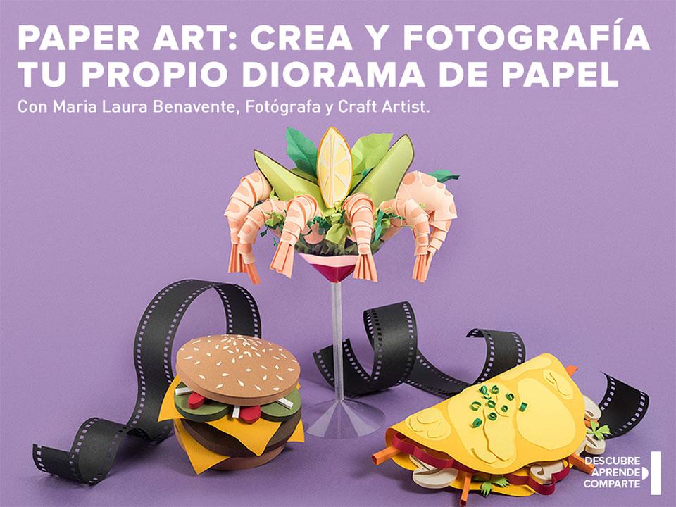 Crehana: curso de diorama de papel1