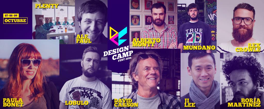 Design Camp Fest 2016, el primer Campamento de Diseño Latinoamericano - ponentes