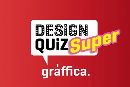 Super Design Quiz. ¿Serías capaz de contestar 100 preguntas sobre cultura visual?