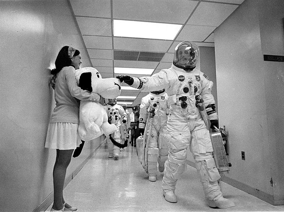 Quién creó a Snoopy - Snoopy-austronauta