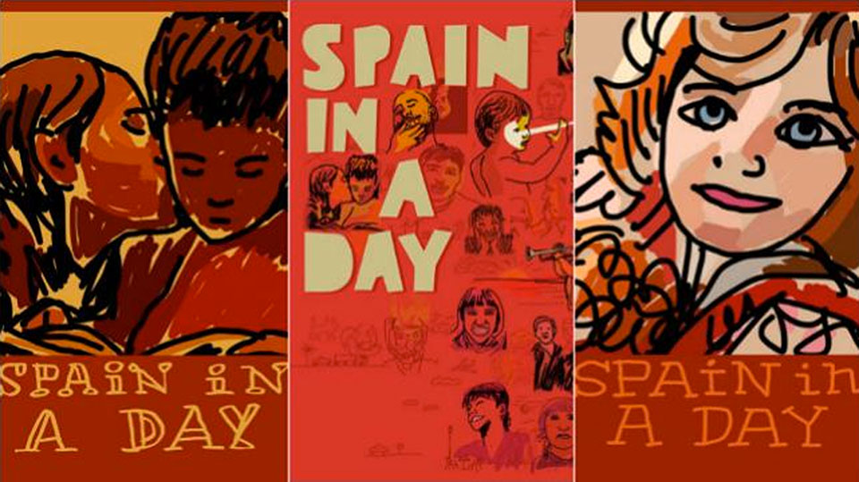 Spain in a Day - Carteles de Javier Mariscal1