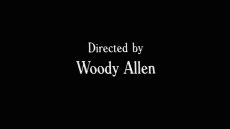 Directed by Woody Allen1