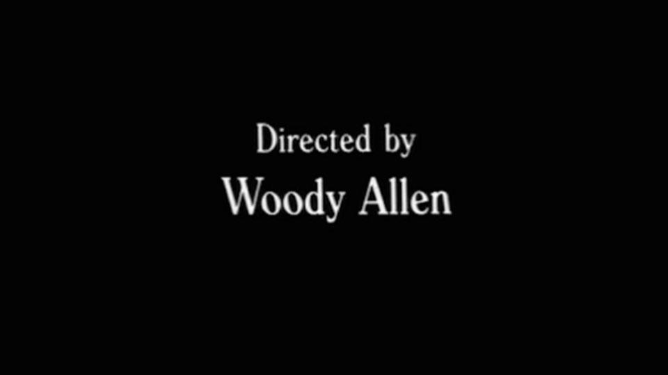 Windsor, la característica tipografía de Woody Allen