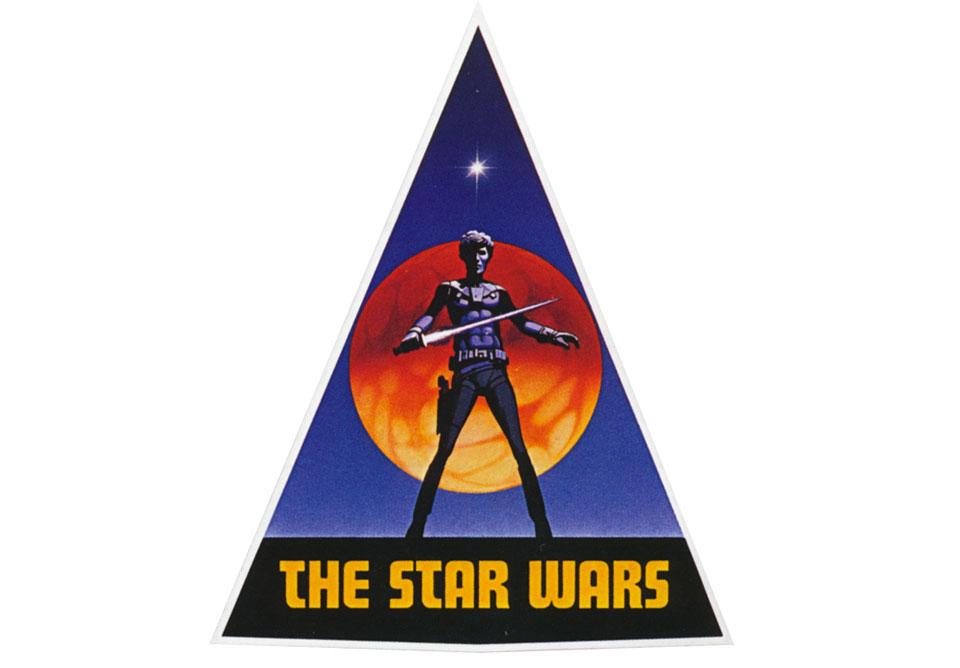 Diseño del primer logo de Star Wars