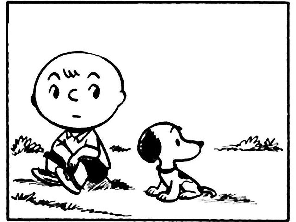 Quién creó a Snoopy - primeras-tiras-de-Peanuts