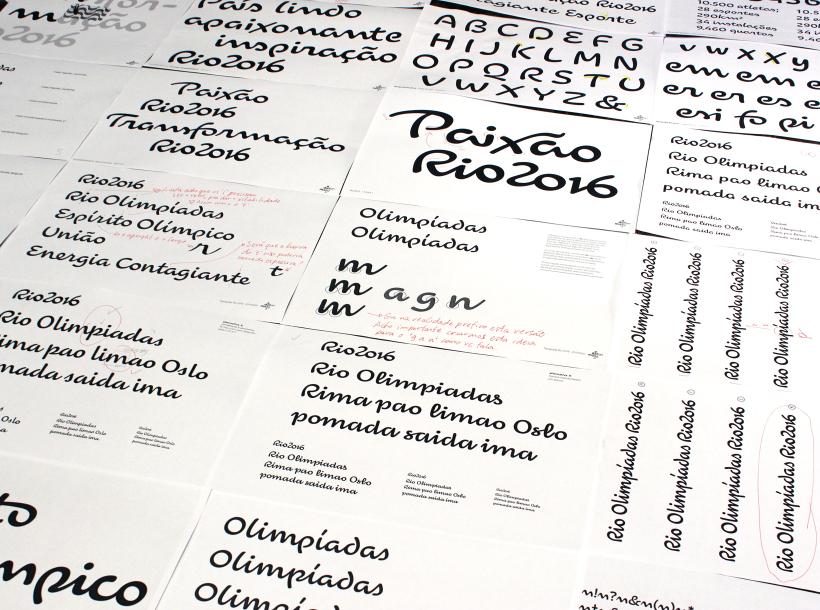 Tipografía de los Juegos Olímpicos de Rio 2016 diseñada por Dalton Maag - 7