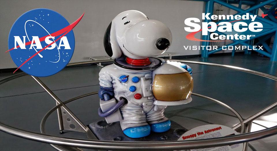 Quién creó a Snoopy - snoopy-mascota-nasa