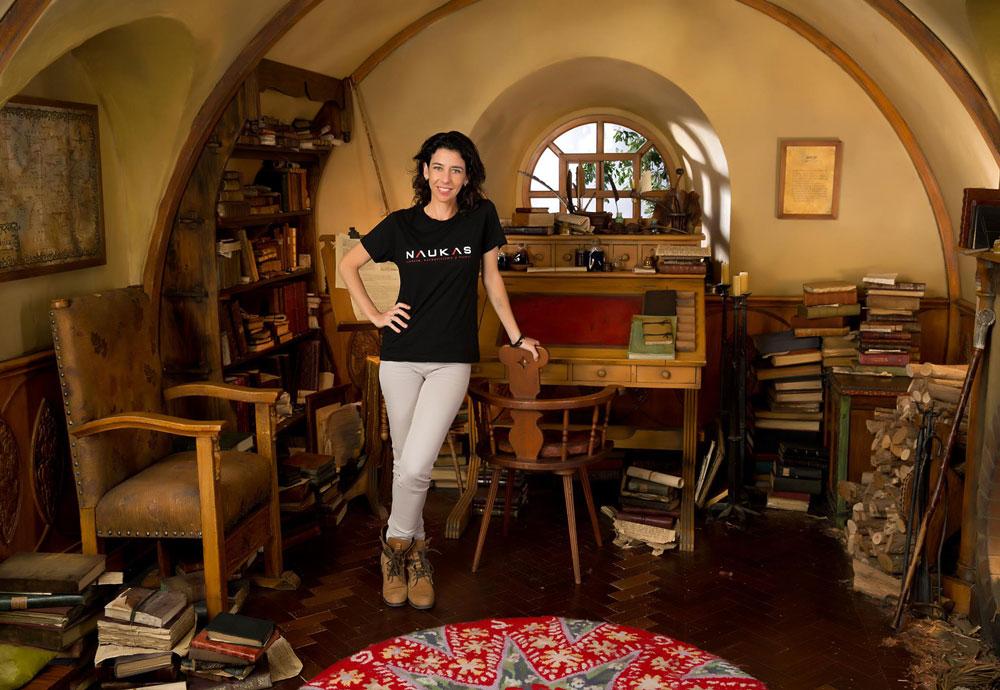 Carolina Jiménez, especialista en VFX, departamento de Layout