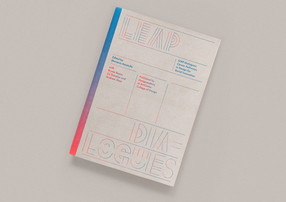Leap Dialogues, diseño editorial de TwoPoints