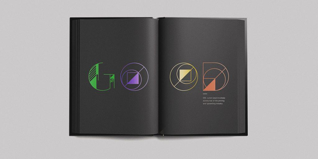 GEOM, la tipografía gratuita inspirada en la geometría pura y dura - 4