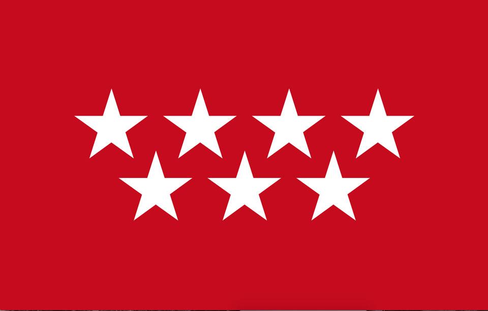 Bandera de Madrid diseñada por Cruz Novillo