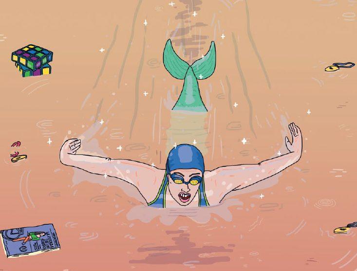 Teresa Perales, plata en 200 m libre en Río 2016, en versión cómic - 3
