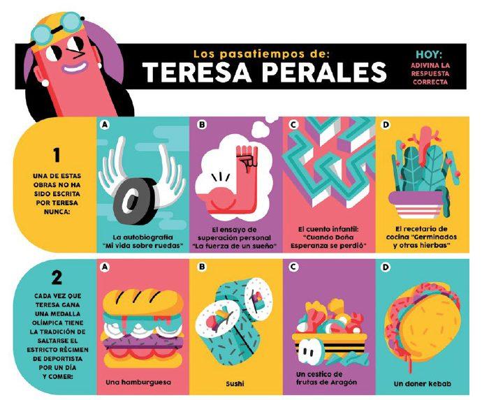 Teresa Perales, plata en 200 m libre en Río 2016, en versión cómic - 2