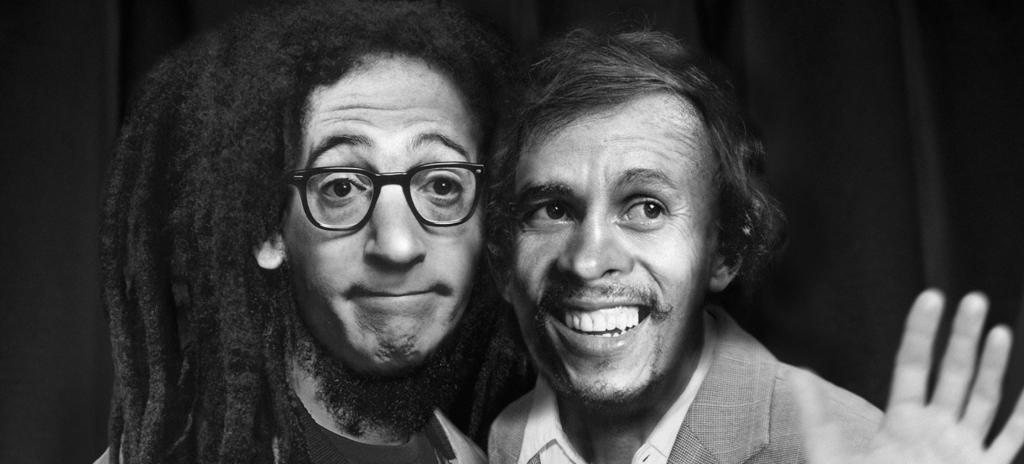 Woody Allen y Bob Marley